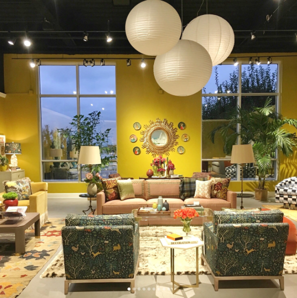 Highland House high point furniture market showroom